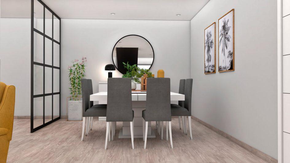 Salón modelo MODERNO - Ref: 0753
