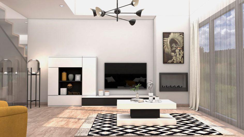 Salón modelo MODERNO - Ref: 0752