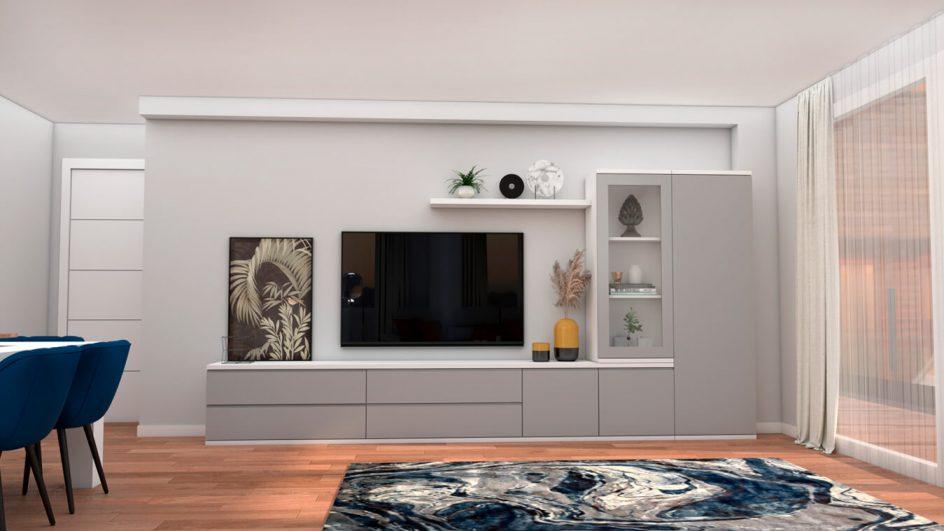 Salón modelo MODERNO - Ref: 0755