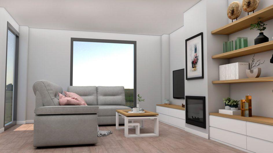 Salón modelo MODERNO - Ref: 0750