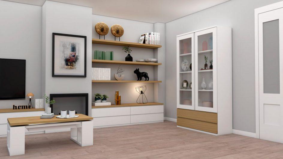 Salón modelo MODERNO - Ref: 0751