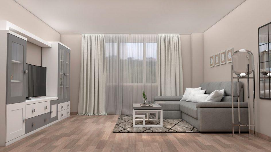 Salón modelo GRANITO SOLAPADO - Ref: 0287