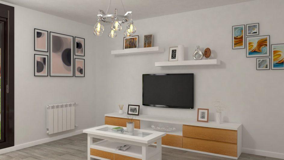 Salón modelo GRANITO SOLAPADO - Ref: 0288