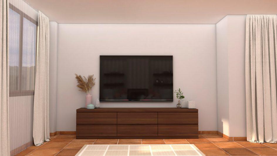 Salón modelo GRANITO SOLAPADO - Ref: 0281