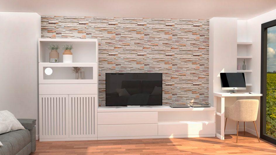 Salón modelo GRANITO SOLAPADO - Ref: 0296