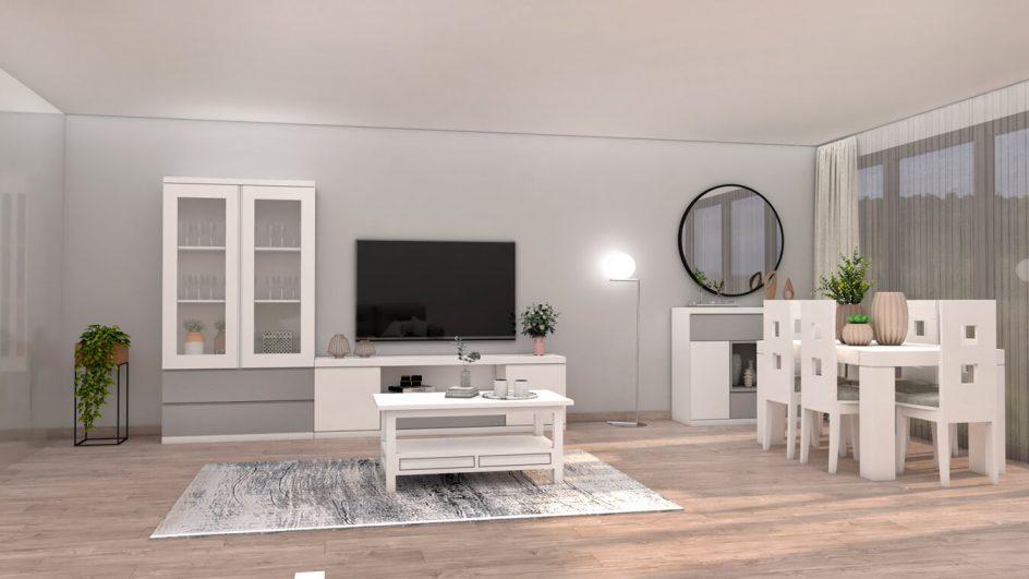 Salón modelo GRANITO SOLAPADO - Ref: 0280