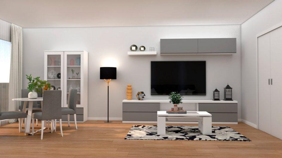Salón modelo GRANITO SOLAPADO - Ref: 0277