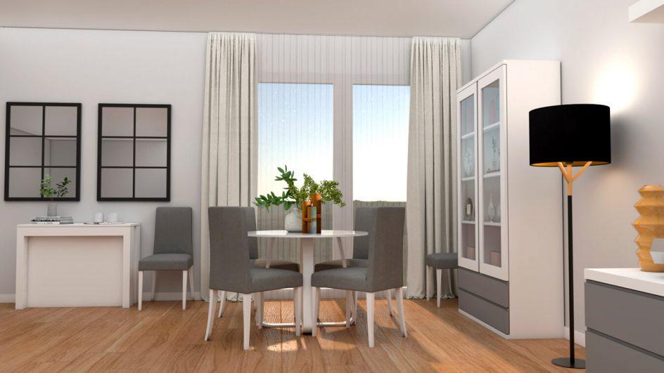 Salón modelo GRANITO SOLAPADO - Ref: 0278