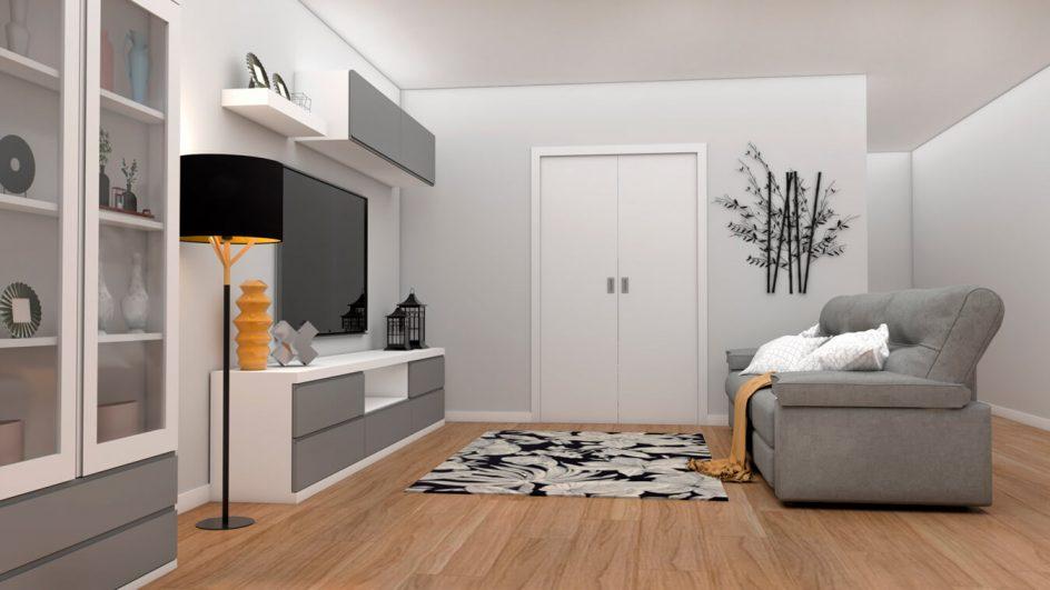 Salón modelo GRANITO SOLAPADO - Ref: 0279