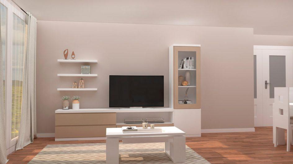 Salón modelo GRANITO SOLAPADO - Ref: 0294