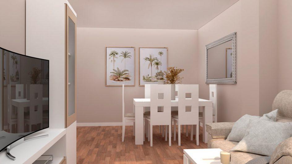 Salón modelo GRANITO SOLAPADO - Ref: 0295