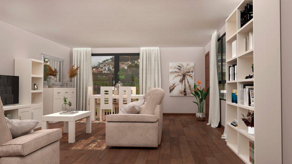 Salón modelo GRANITO SOLAPADO - Ref: 0293