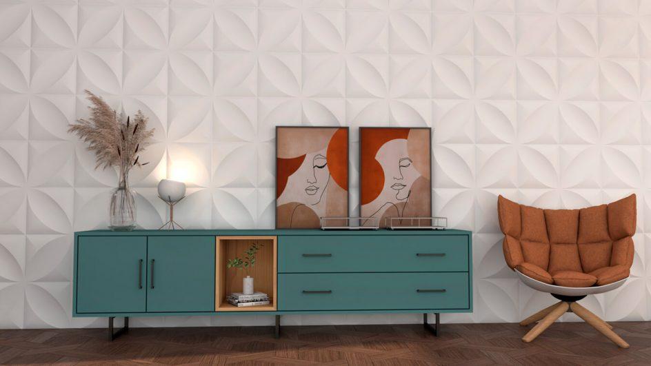 Salón modelo INDUSTRIAL - Ref: 0499