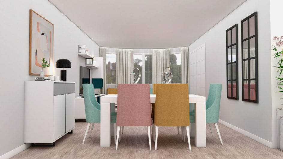 Salón modelo INDUSTRIAL - Ref: 0495