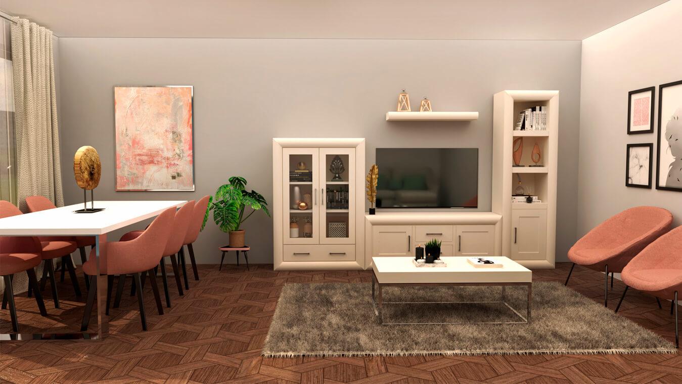 Salón modelo DATAN - Ref. 0929