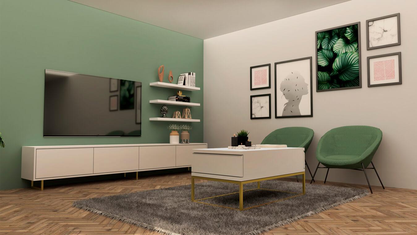Salón modelo INDUSTRIAL - Ref. 0021