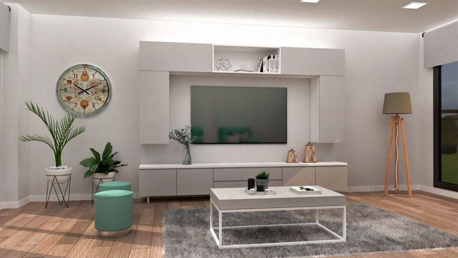Salon modelo INDUSTRIAL - Ref. 0023