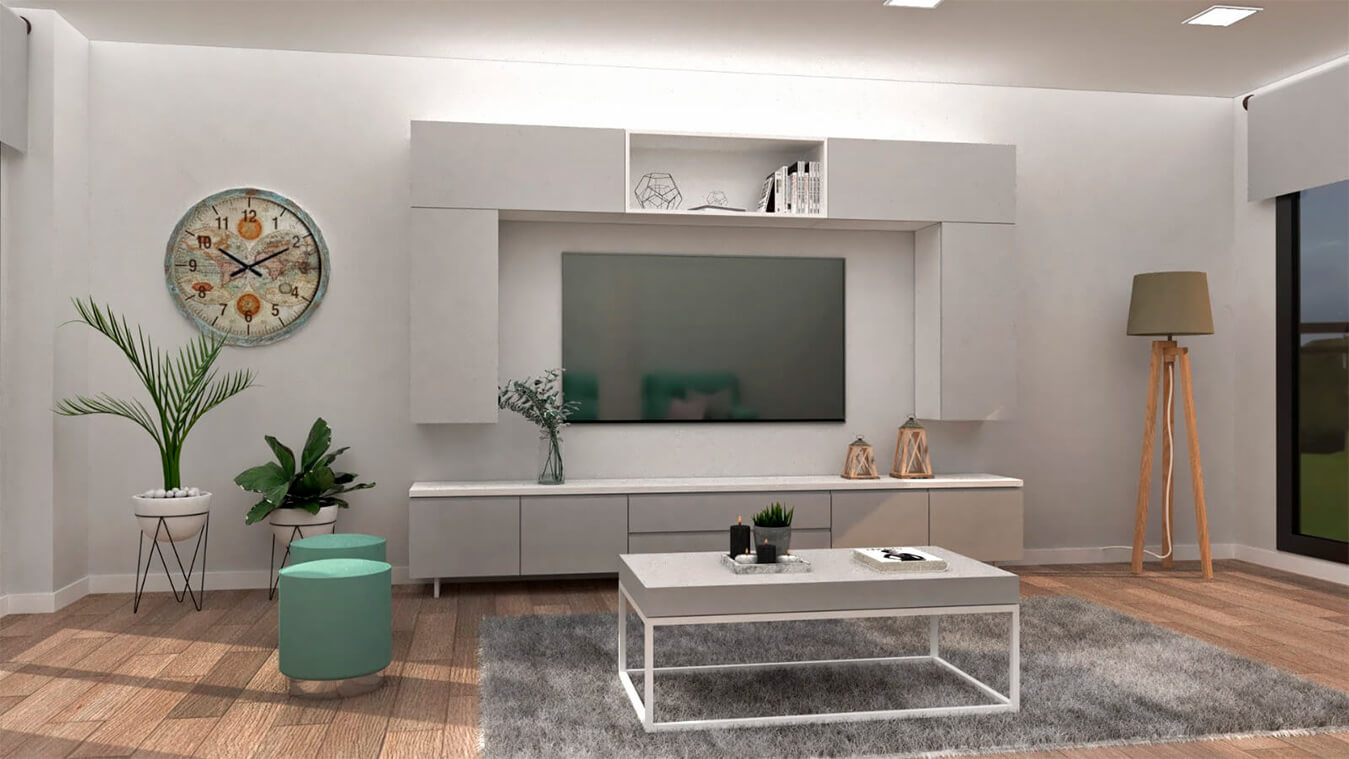 Salón modelo INDUSTRIAL - Ref. 0023