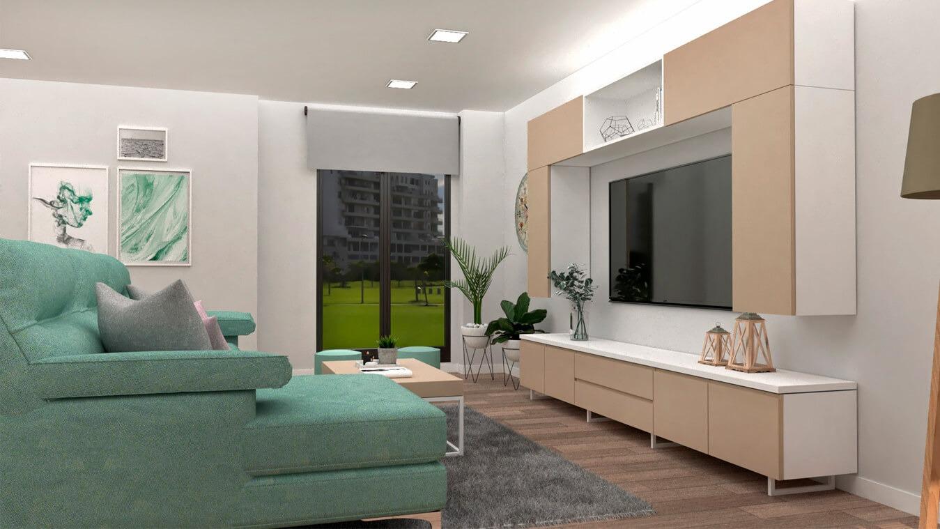 Salón modelo INDUSTRIAL - Ref. 0024