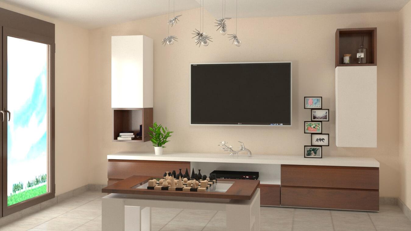 Salón modelo MODERNO - Ref. 0875