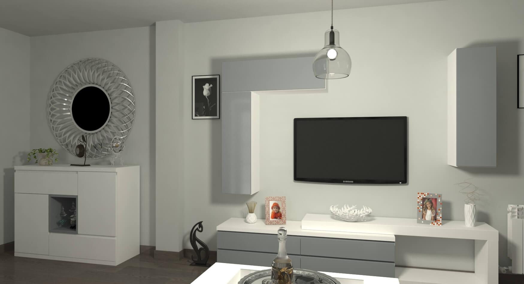 Salón modelo MODERNO - Ref. 0878