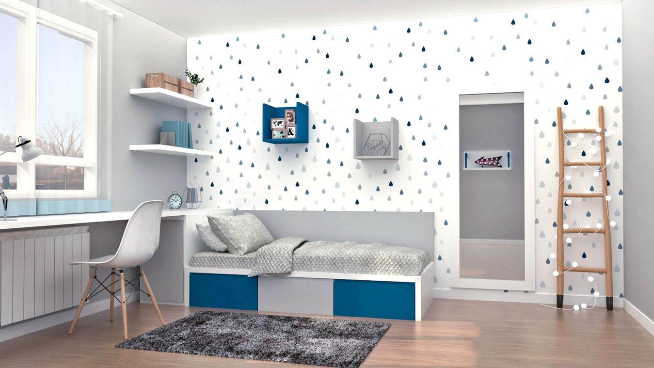 Dormitorio Juvenil TATAMI - Ref: 0001
