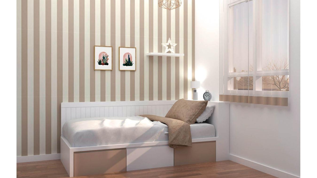 Dormitorio Juvenil TATAMI - Ref: 0005