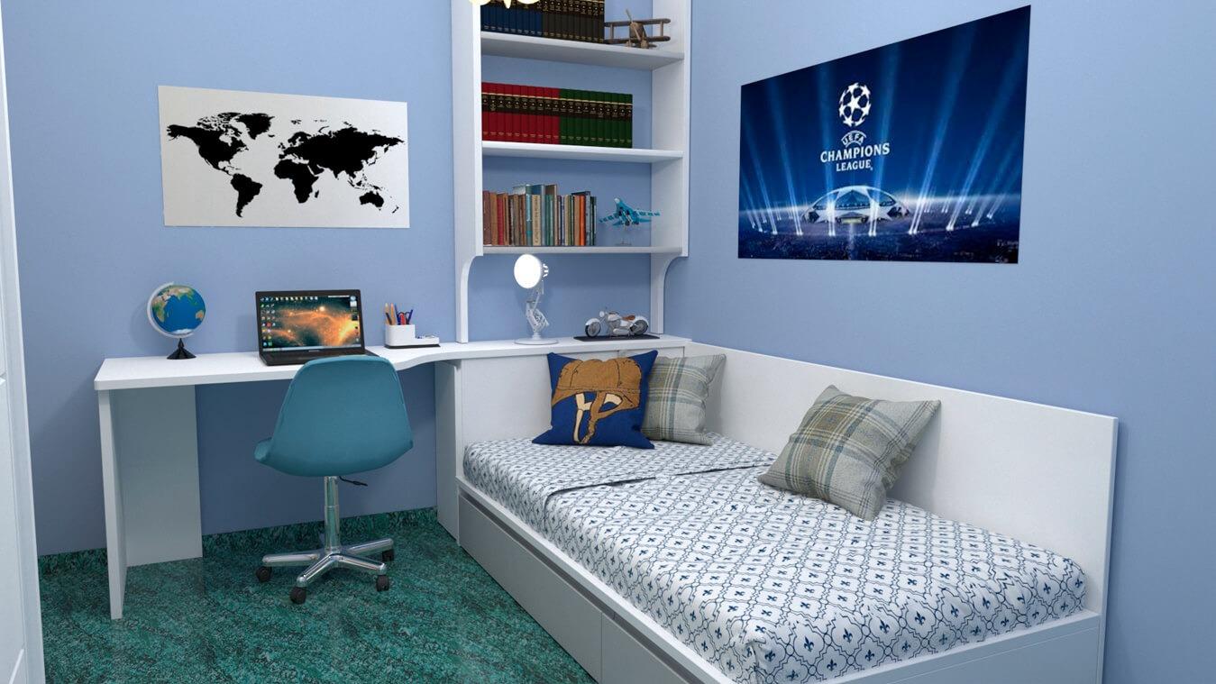 Dormitorio Juvenil TATAMI - Ref: 0007