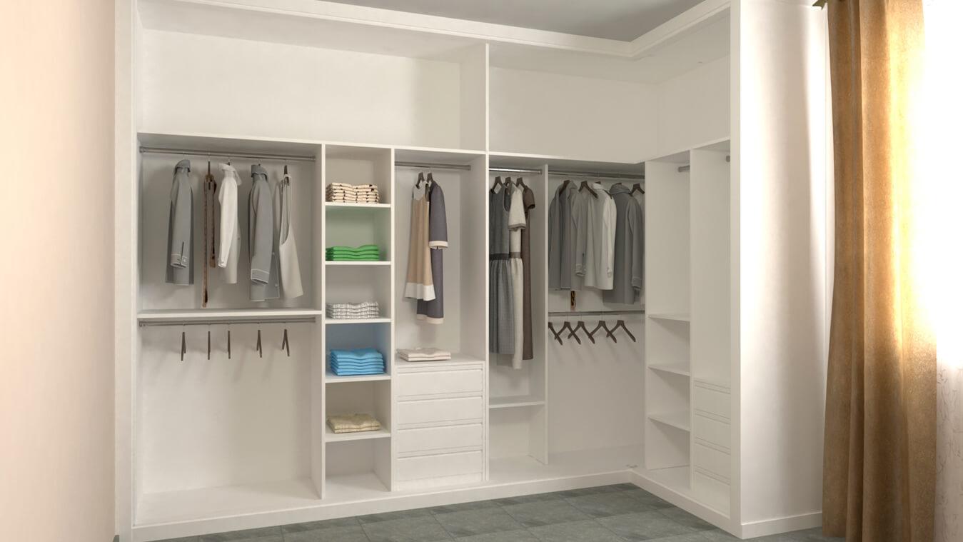 Armarios y vestidores - Ref: 0015