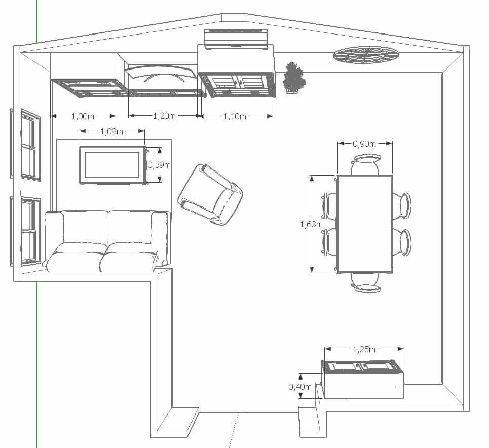 Diseño 3d Muebles Tante 15