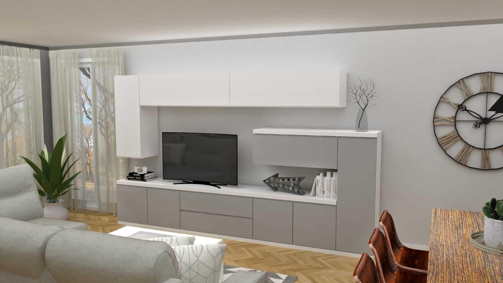 Diseño 3d Muebles Tante 2