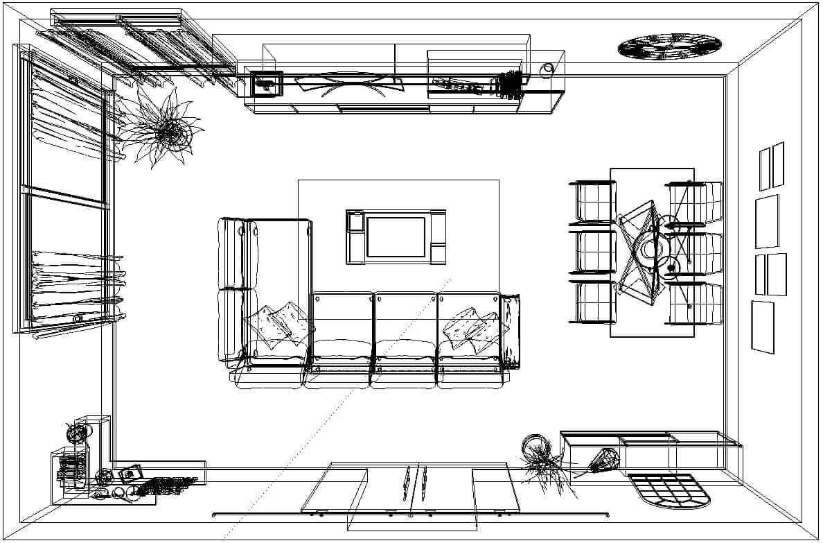 Diseño 3d Muebles Tante 3