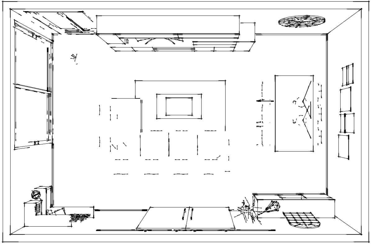 Diseño 3d Muebles Tante 7