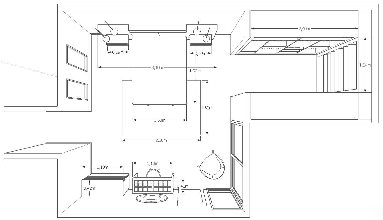 Diseño Dormitorio Muebles Tante 1