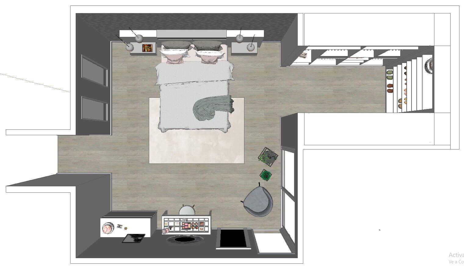 Diseño Dormitorio Muebles Tante 2