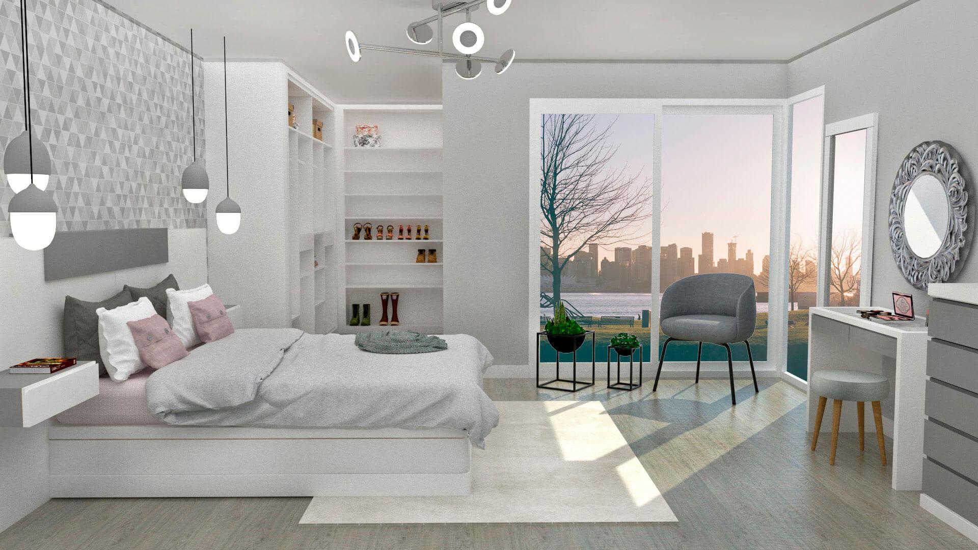 Diseño Dormitorio Muebles Tante 4