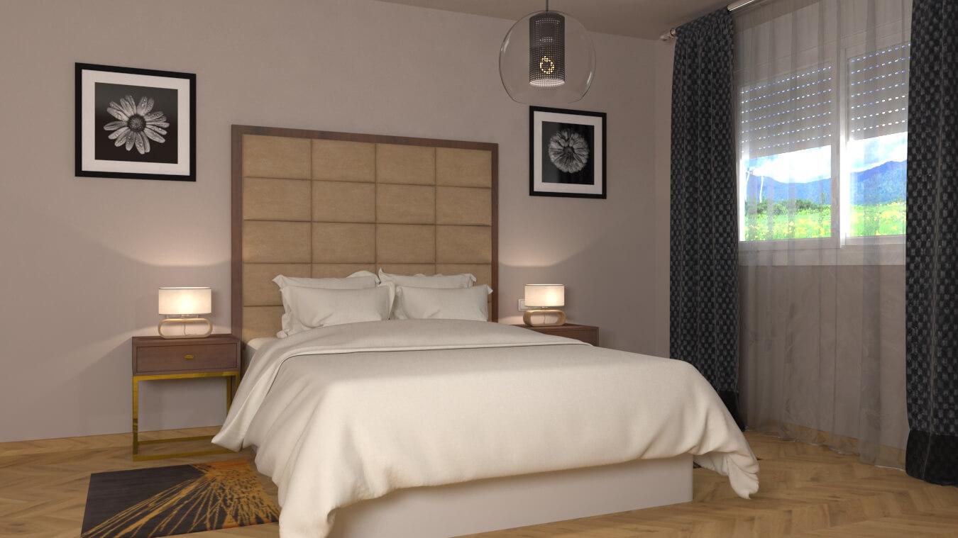 Dormitorio modelo INDUSTRIAL - Ref. 0008