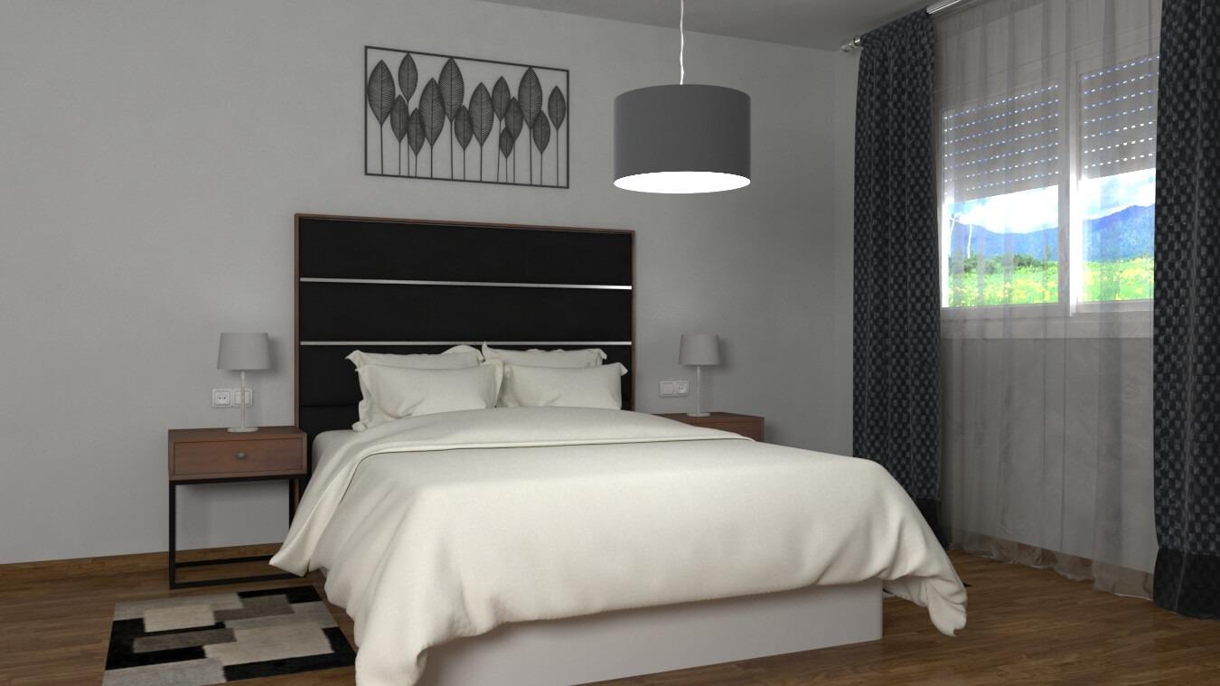 Dormitorio modelo INDUSTRIAL - Ref. 0009