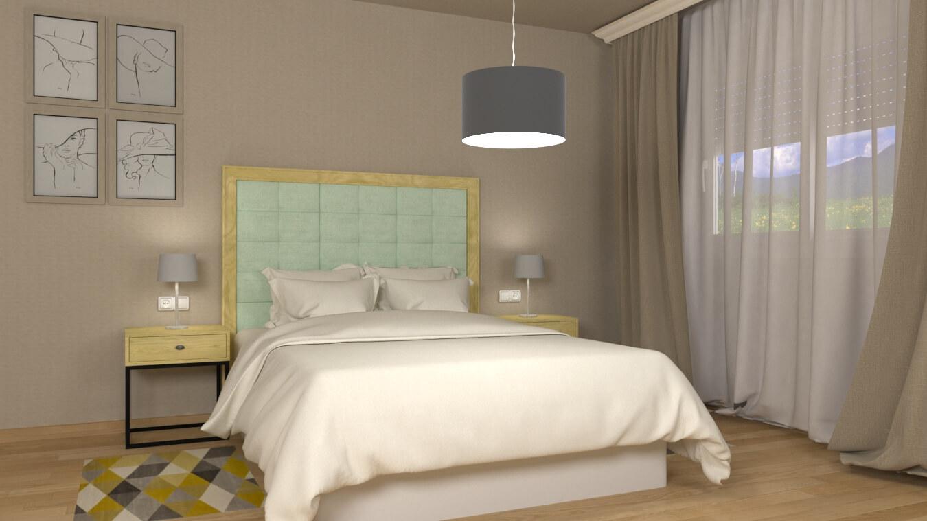 Dormitorio modelo INDUSTRIAL - Ref. 0010