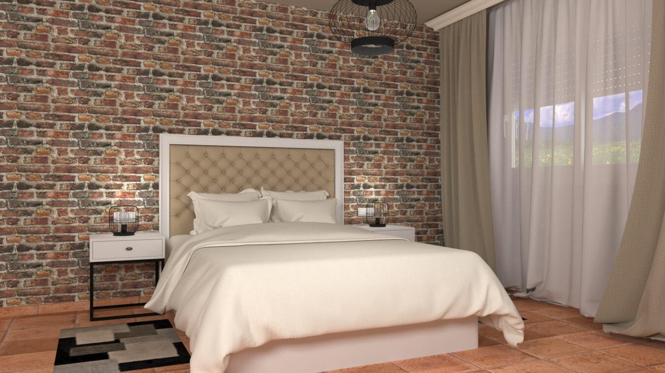 Dormitorio modelo INDUSTRIAL - Ref. 0011