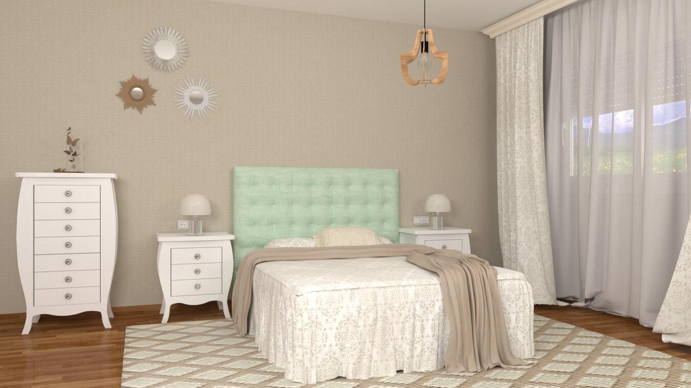 Dormitorio modelo SECRETO - Ref: 0021