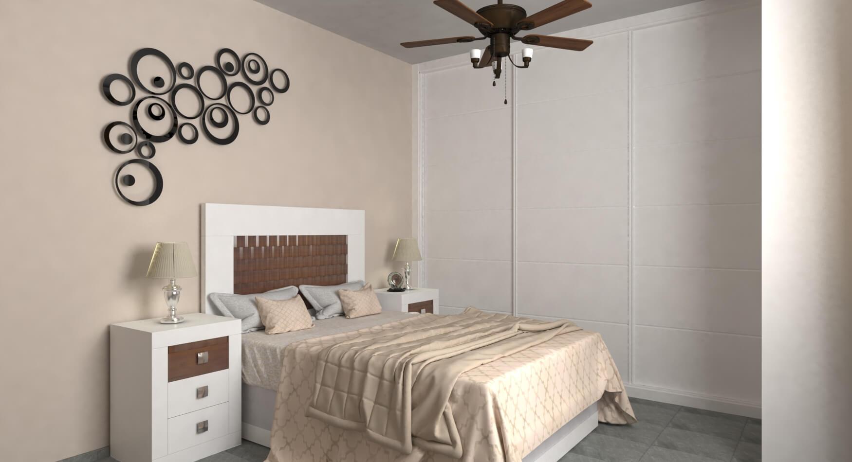 Dormitorio modelo GRANITO OLAS - Ref: 0026
