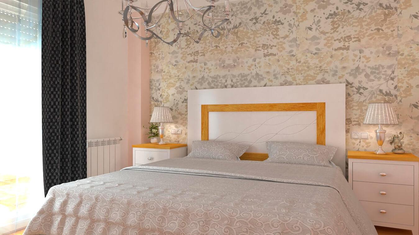 Dormitorio modelo ISABELLA - Ref: 0008