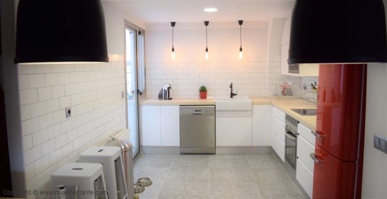 Muebles de Cocina - Ref. 0137