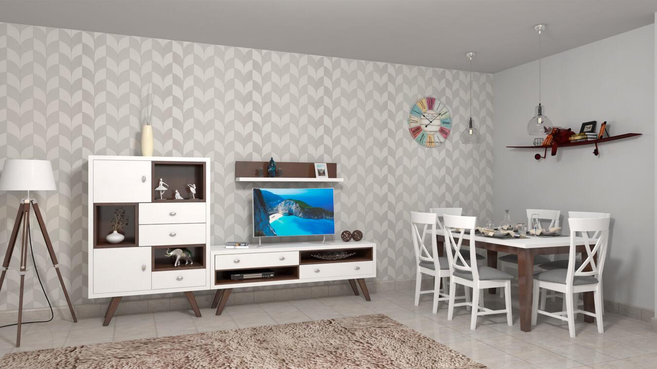 Salón modelo CELTA - Ref: 0502