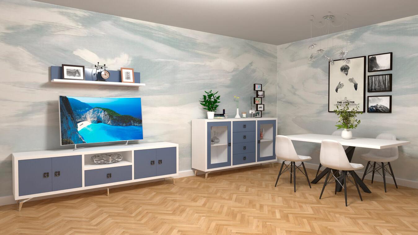Salón modelo CELTA - Ref: 0506