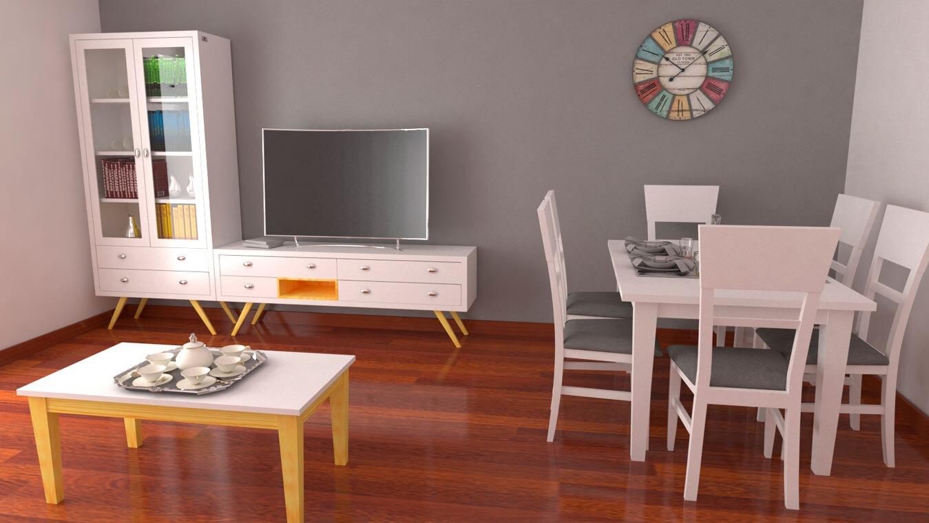 Salón modelo CELTA - Ref: 0510