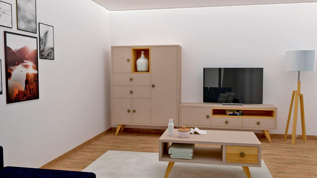 Salón modelo CELTA - Ref: 0520