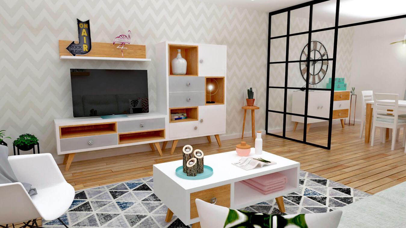 Salón modelo CELTA - Ref: 0524