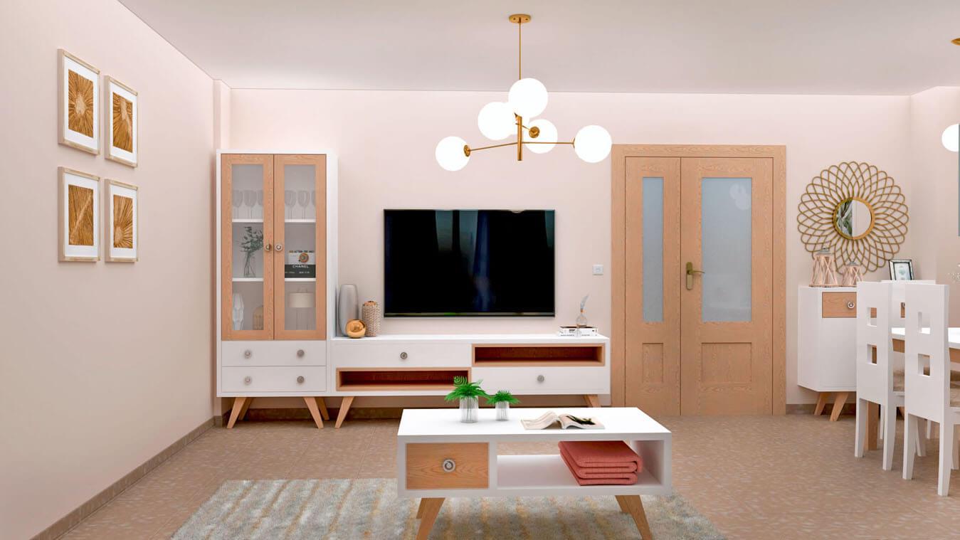 Salón modelo CELTA - Ref: 0527